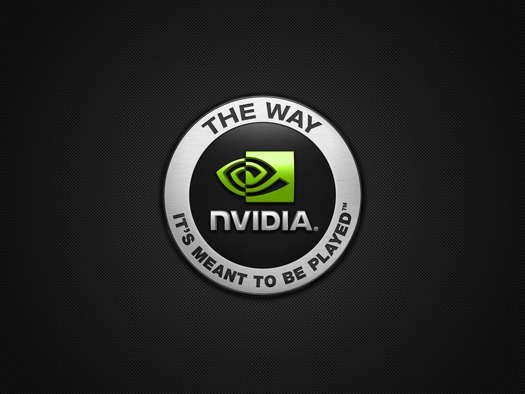 Nvidia, logo, the way its meant to be played