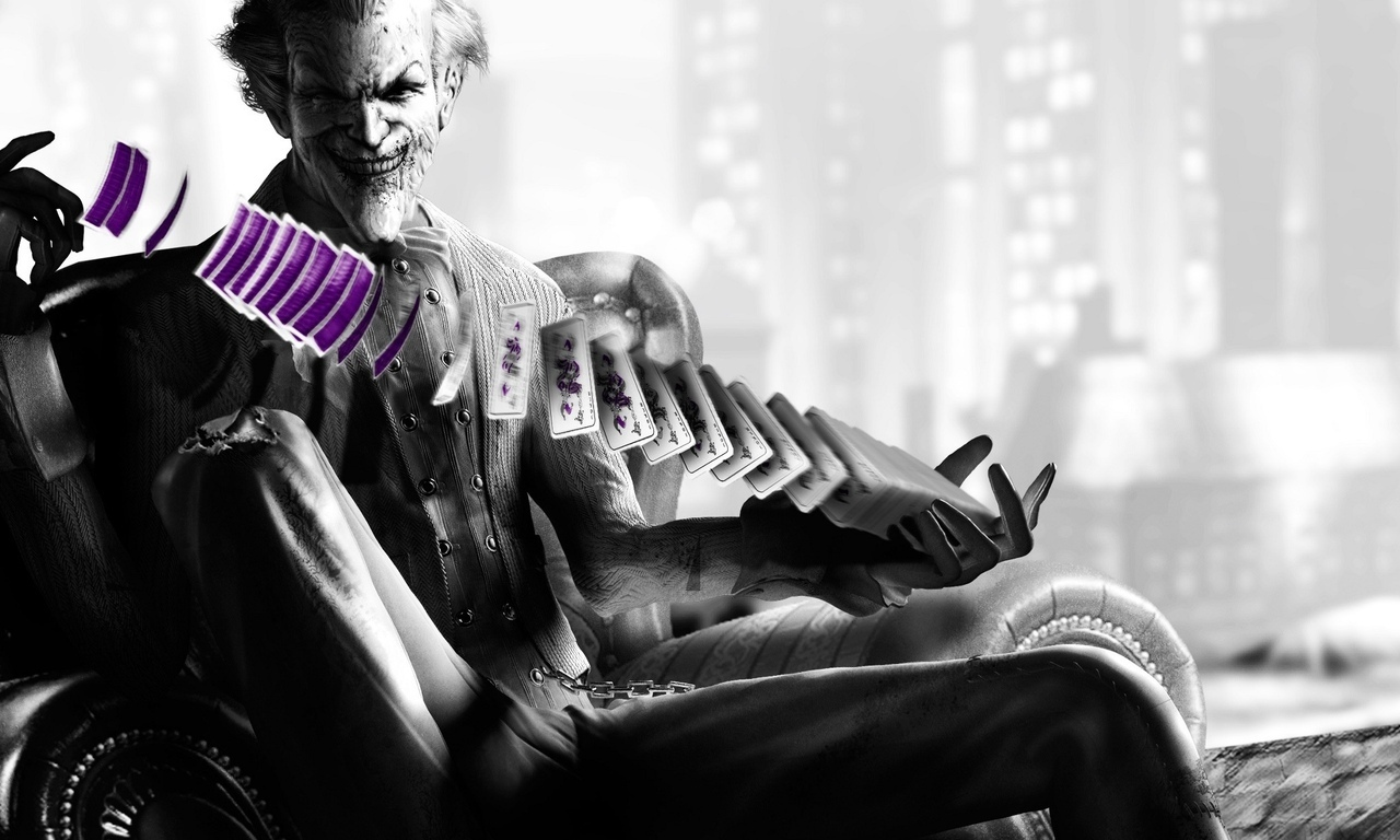 Batman: Arkham City, Карты, Джокер, Joker