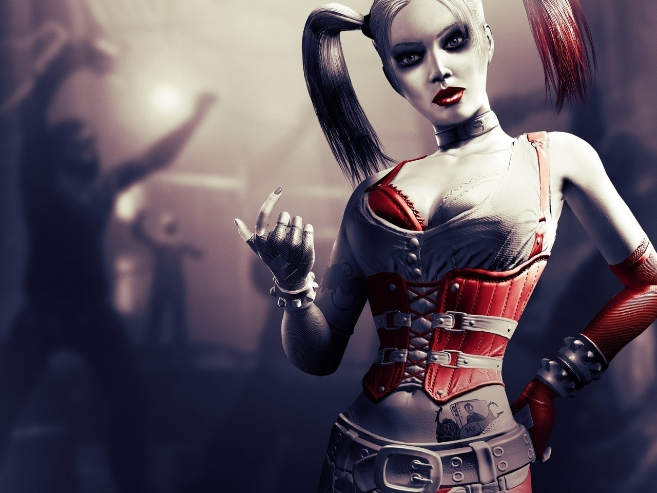 harley quinn, Харли квинн, batman, arkham city