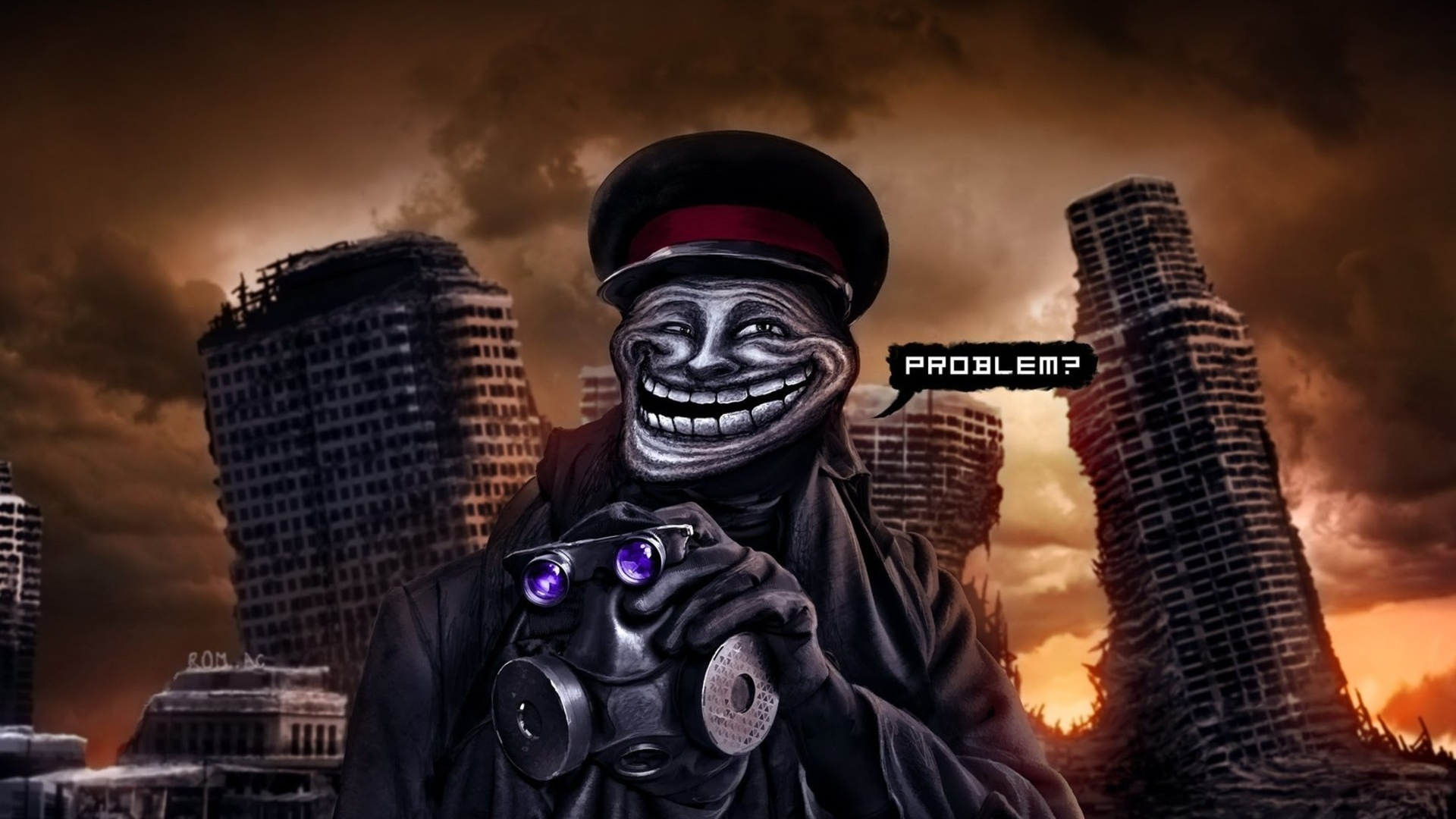 романтика апокалипсиса, romantically apocalyptic, troll face, капитан