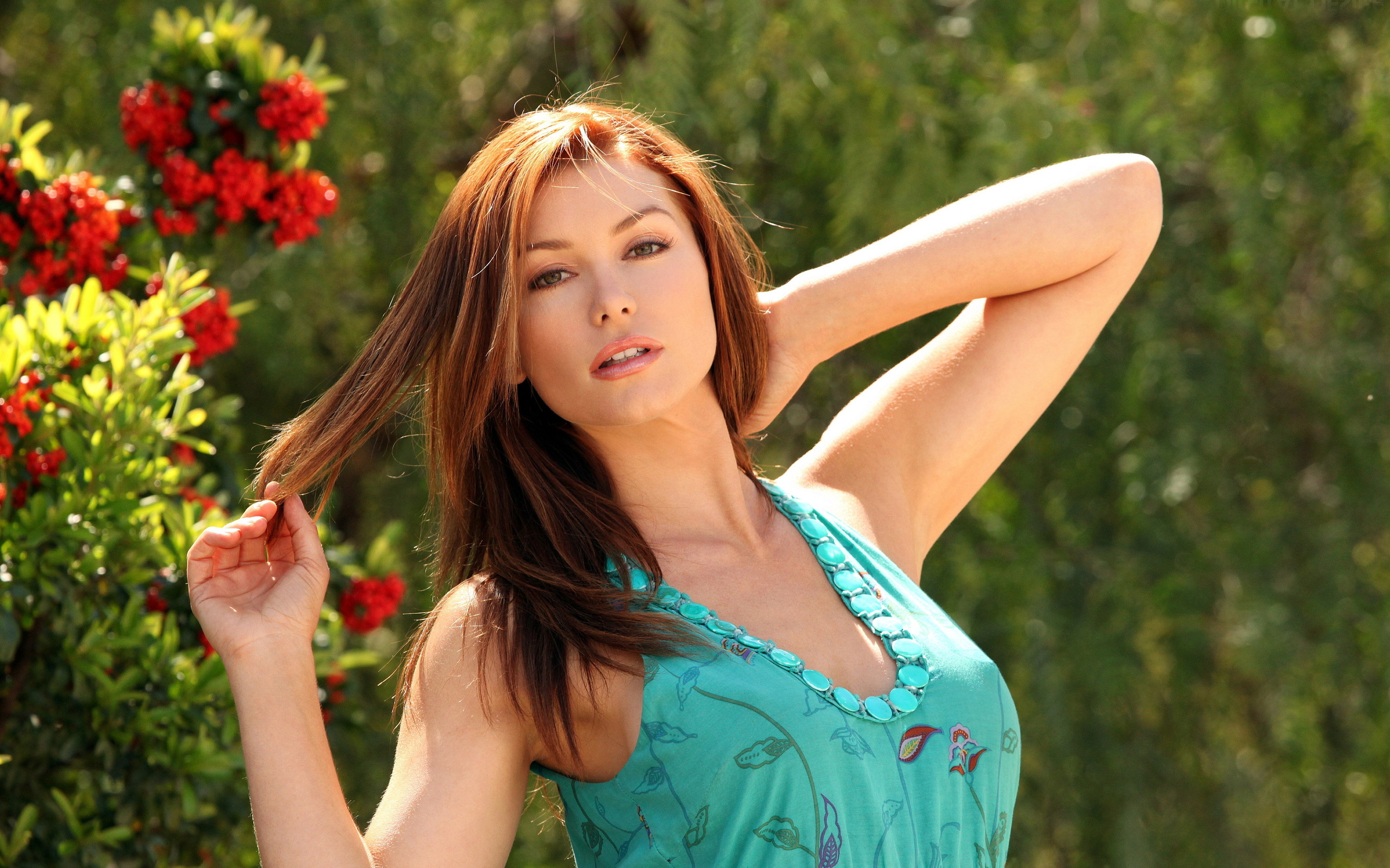 sexy, heather vandeven, model, cute, beautiful