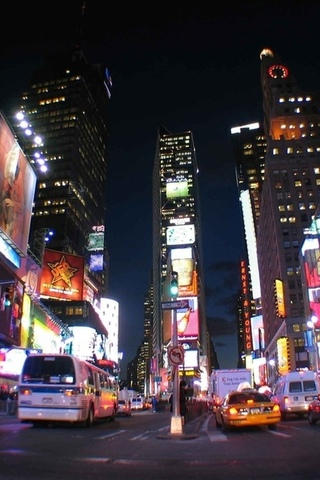 times square, lights, night, city, NYC