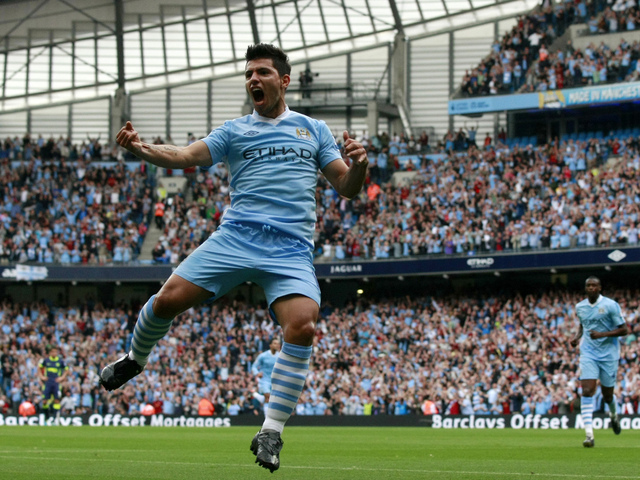 manchester city wallpapers hd 1920x1200, кун агуеро, kun aguero