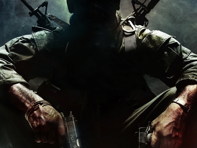 Call of duty, call, duty, ops, оружие, black, cod