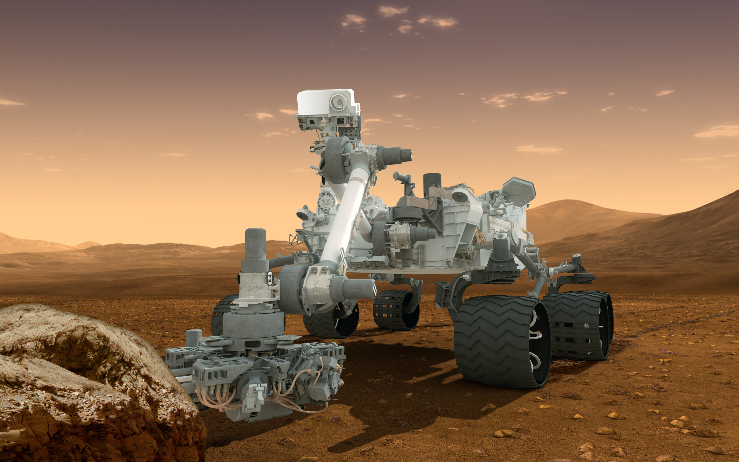 mars rover images - HD 2560×1600
