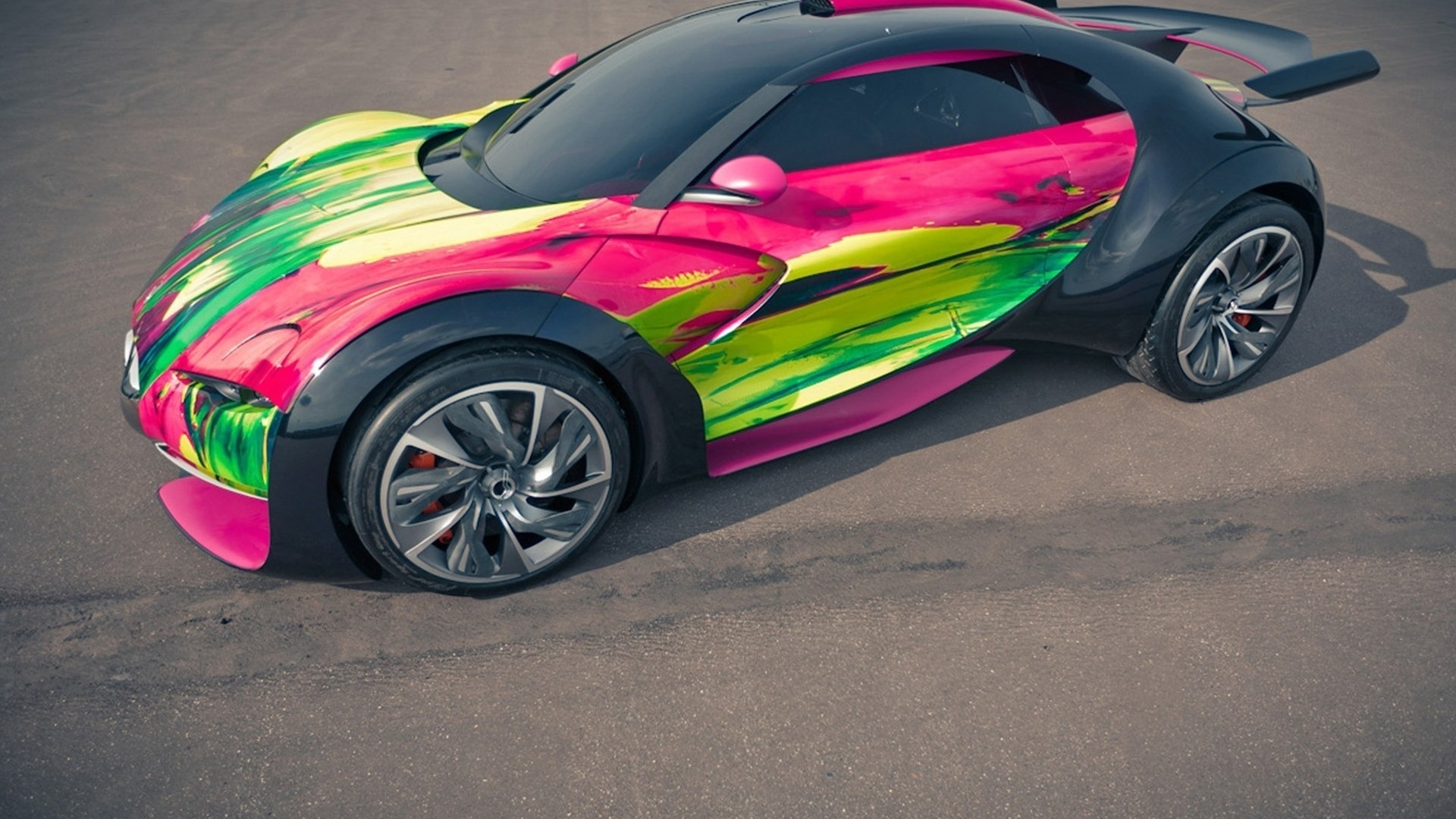 art concept, citroen, car, survolt
