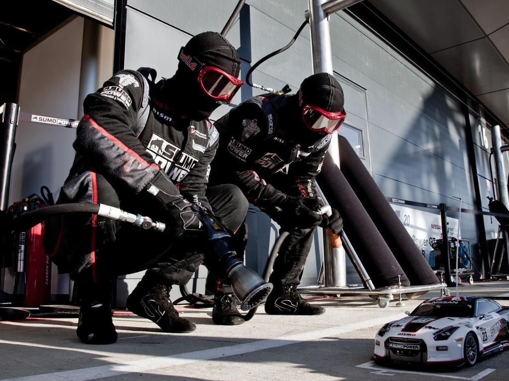 rc stop, nissan gt-r, sumo power team