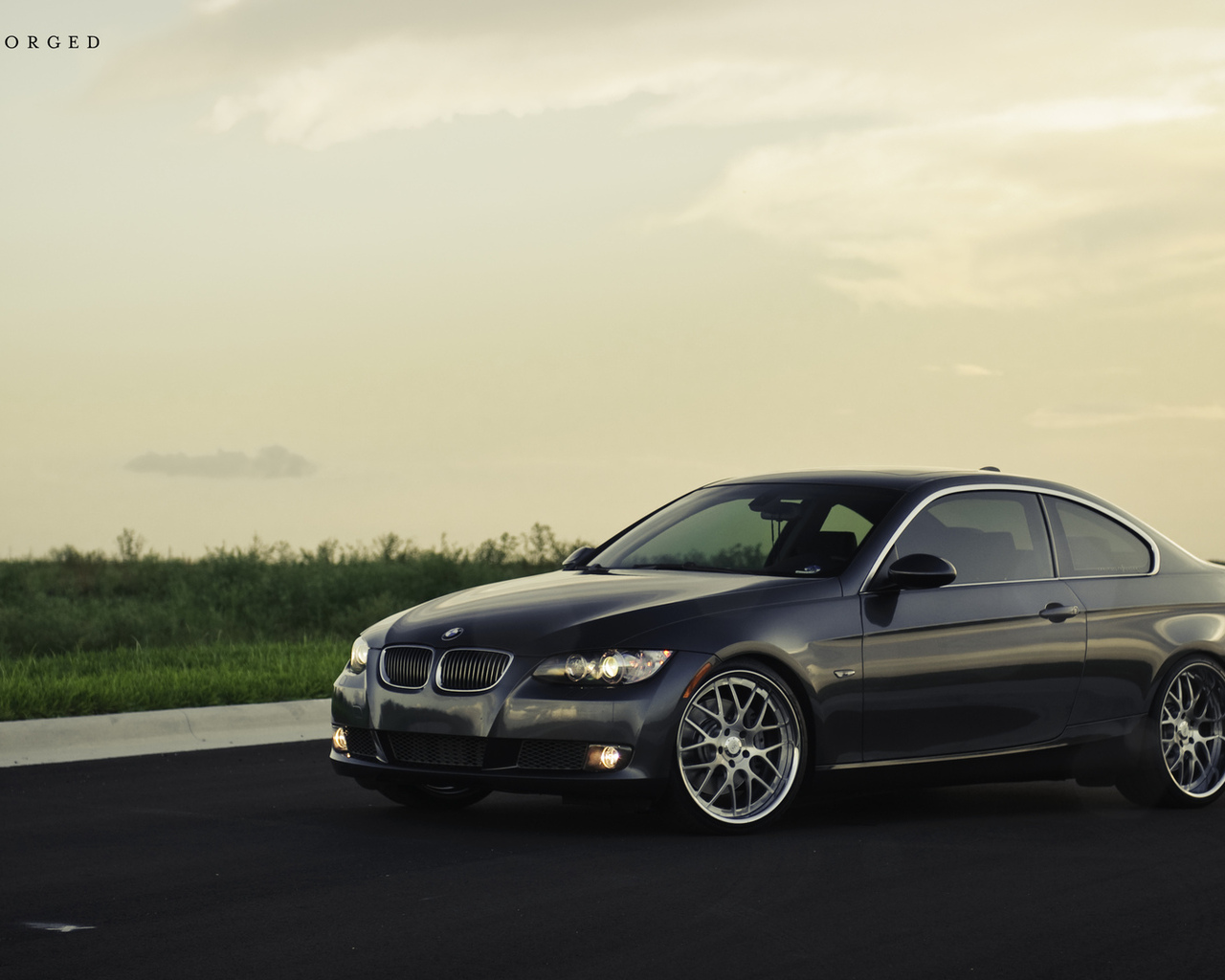 m3, bmw, газон, 360 three sixty forged, 335i, передняя часть, трава, бмв