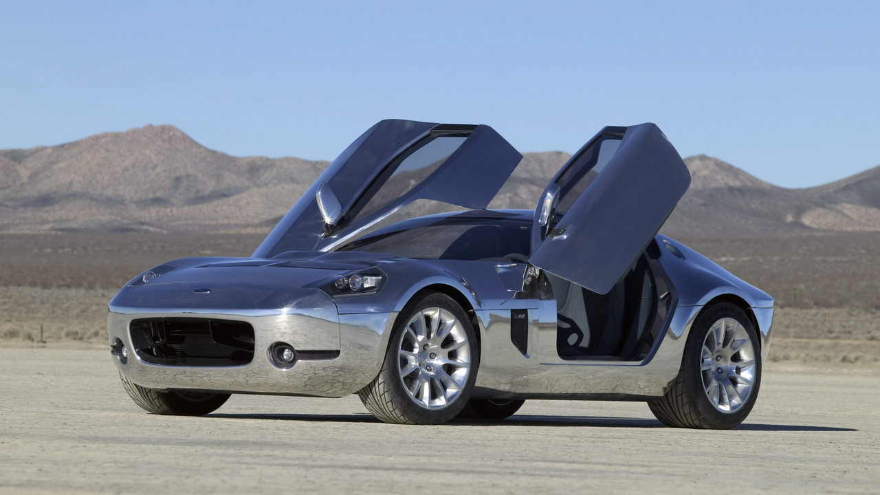 ford shelby, body concept, gr-1 aluminum