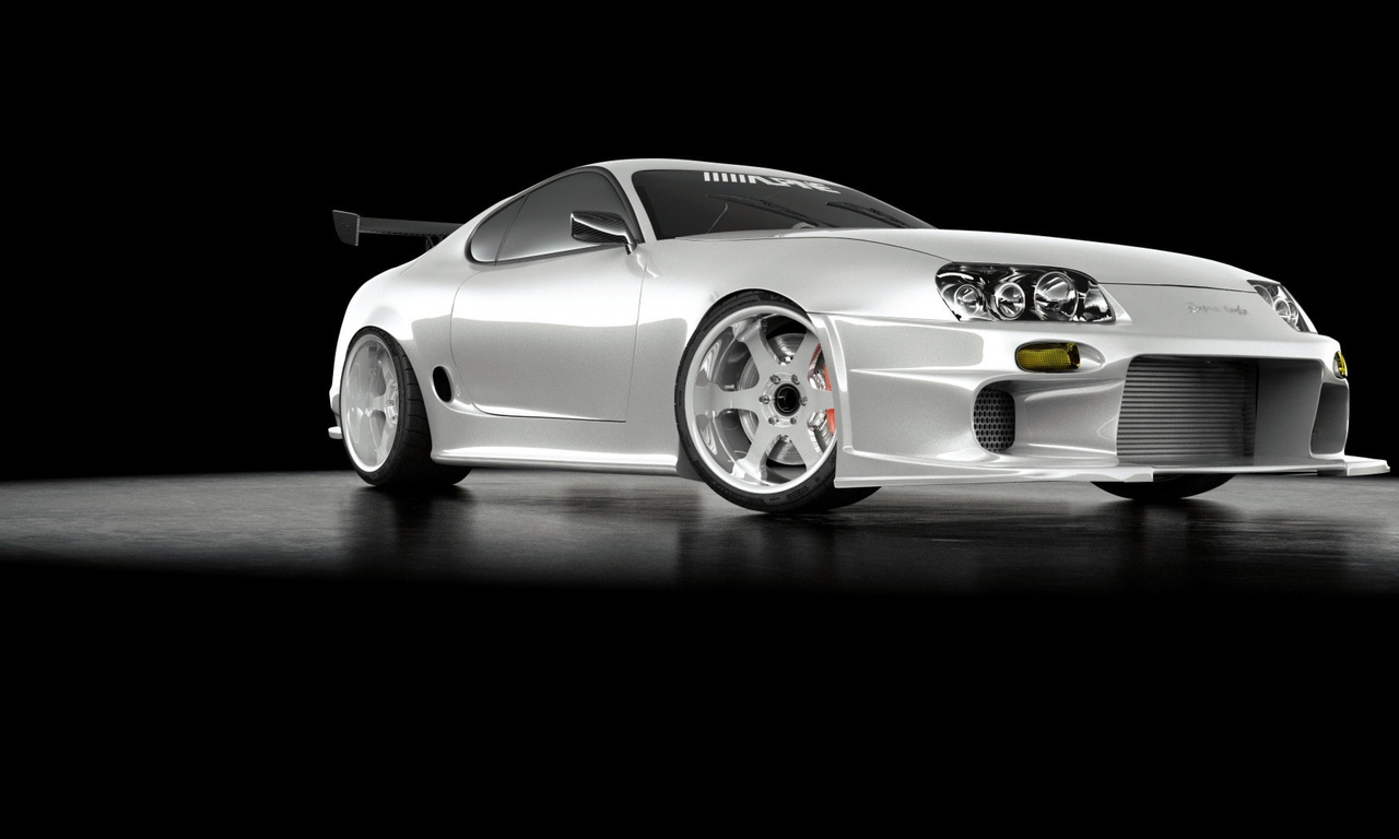 supra, turbo, white
