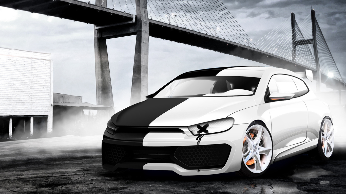 vw, two faces, scirocco