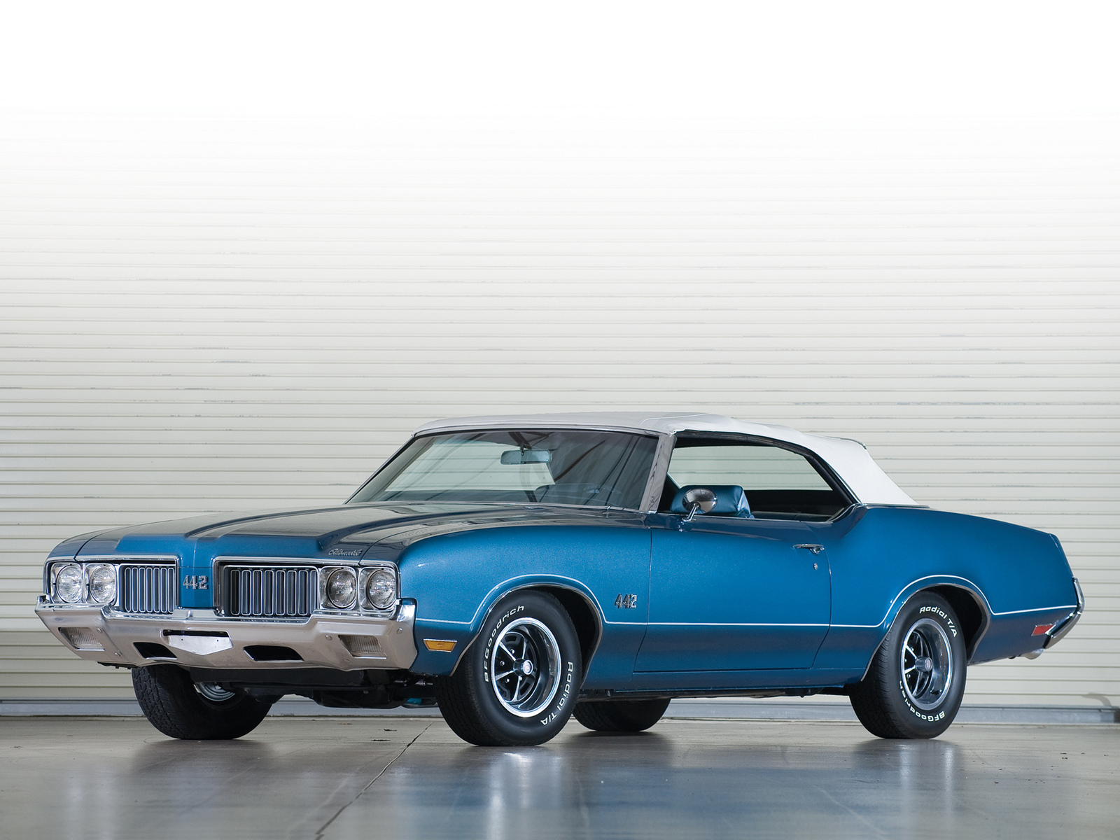автомобили, ретро, oldsmobile, 442 convertible
