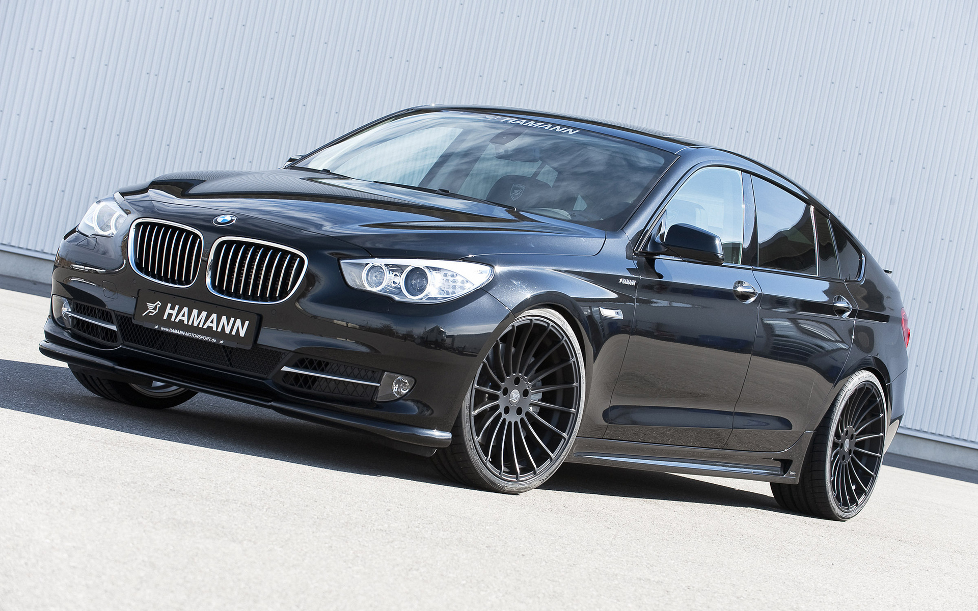 car, bmw 5 series gran turismo, машина, tuning, hamann