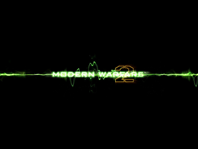 green, modern warfare 2, call of duty, logo