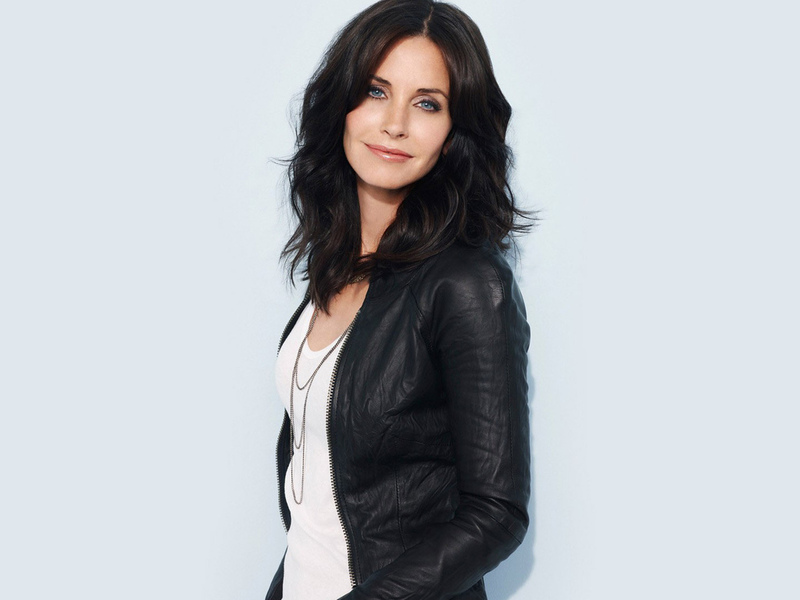 брюнетка, courteney cox, актриса, девушка
