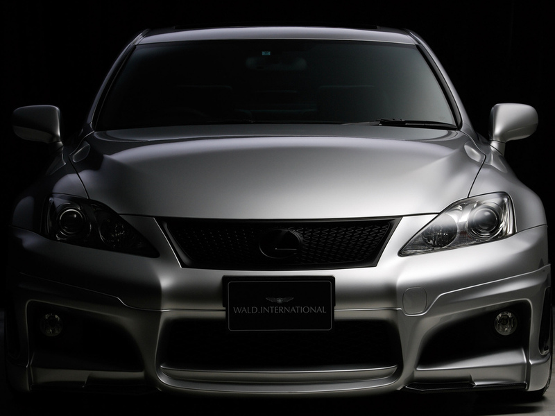 lexus is-f, tuning, лексус, wald, front