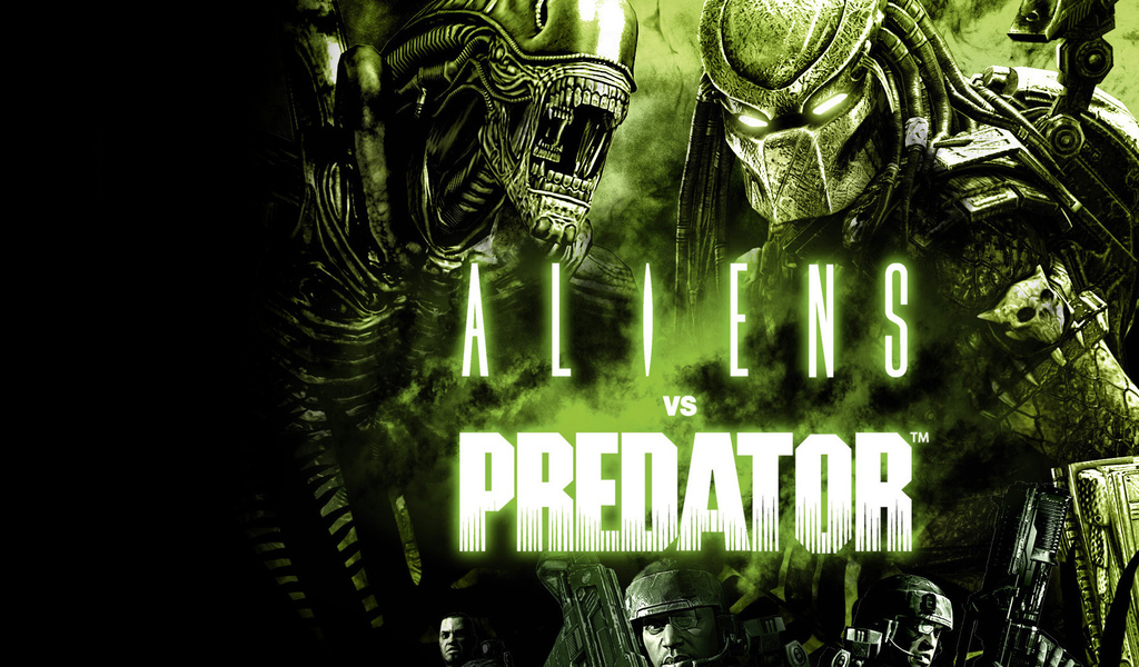 aliens vs. predator, игры, action