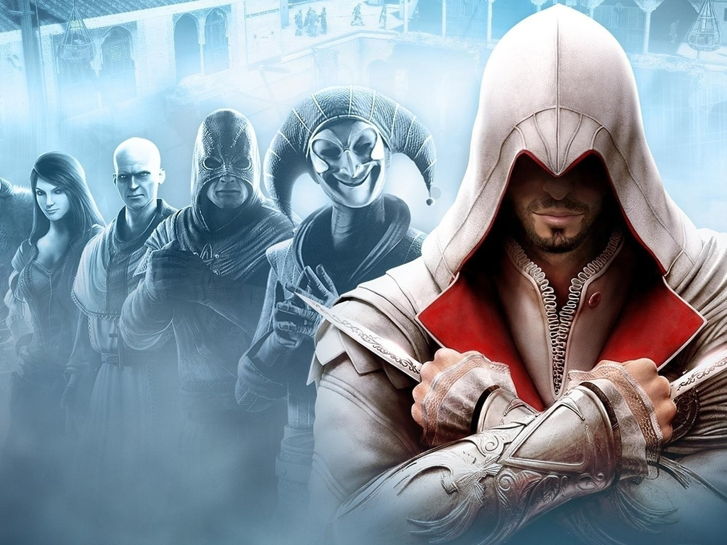 assassins creed, brotherhood, эцио, кредо убийцы