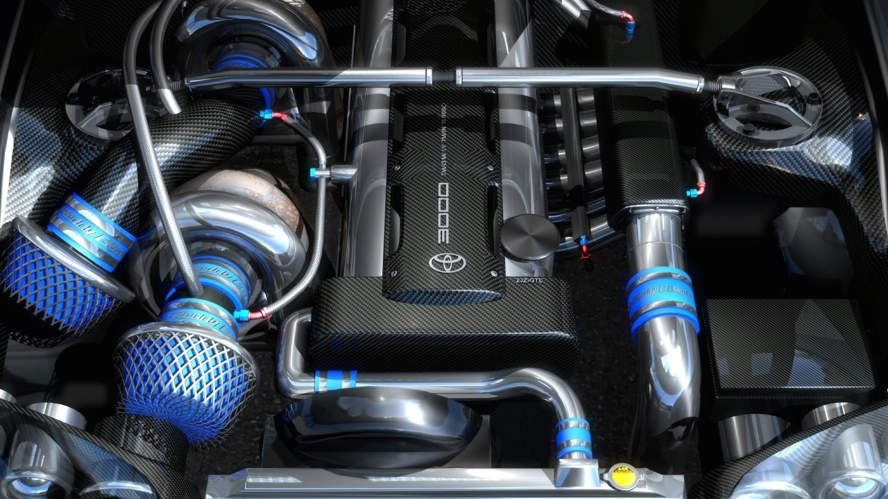 turbo, toyota, supra, tuning, engine