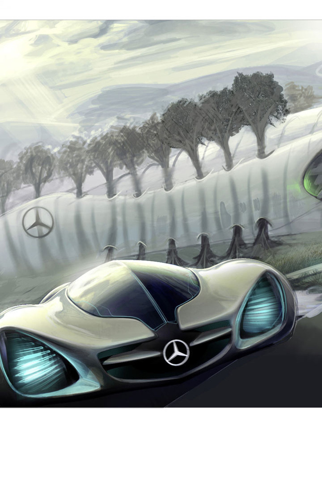 biome, mercedes, benz, concept