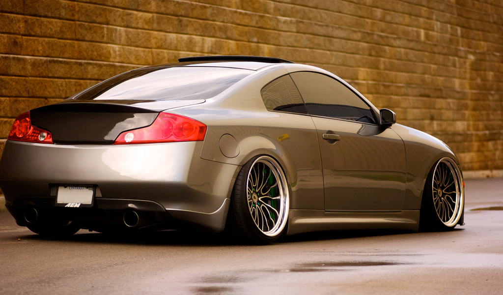 купе, low, infiniti, g35, coupe, инфинити