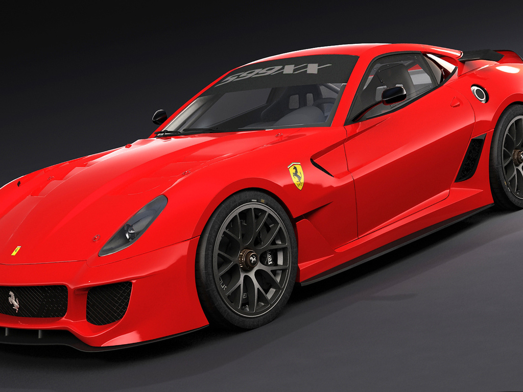 599xx, red, front