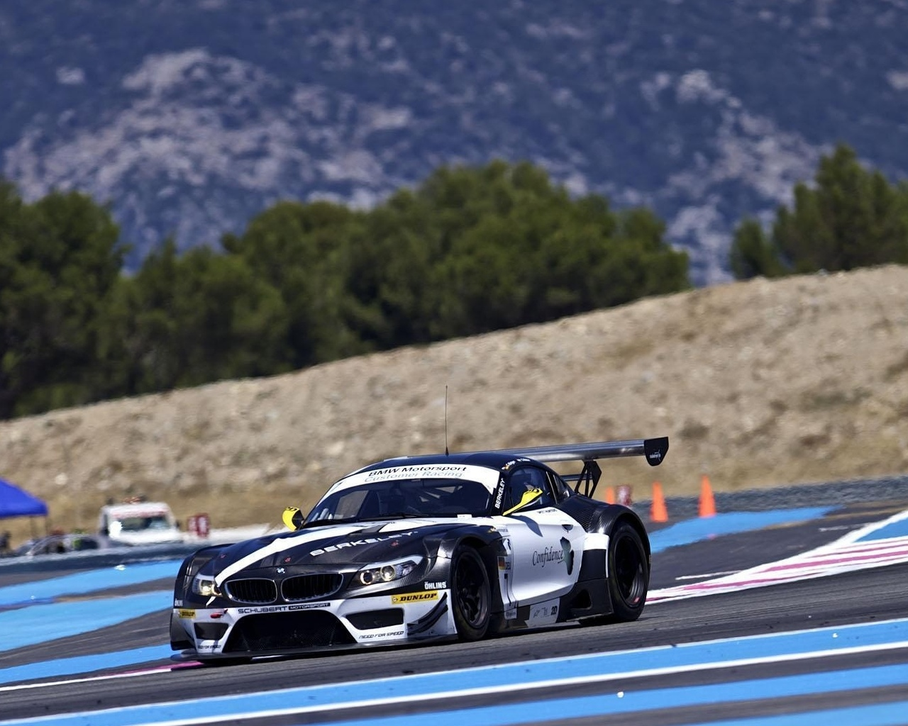 paul ricard, team need for speed, bmw, z4, fia gt3 2011