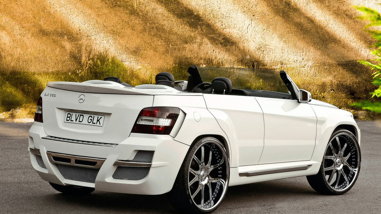 custom, кабриолет, urban whip, кастом, cabrio, mercedes benz, glk 350, boulevard customs