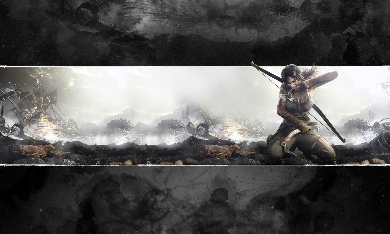 a survivor is born, lara croft, tomb raider