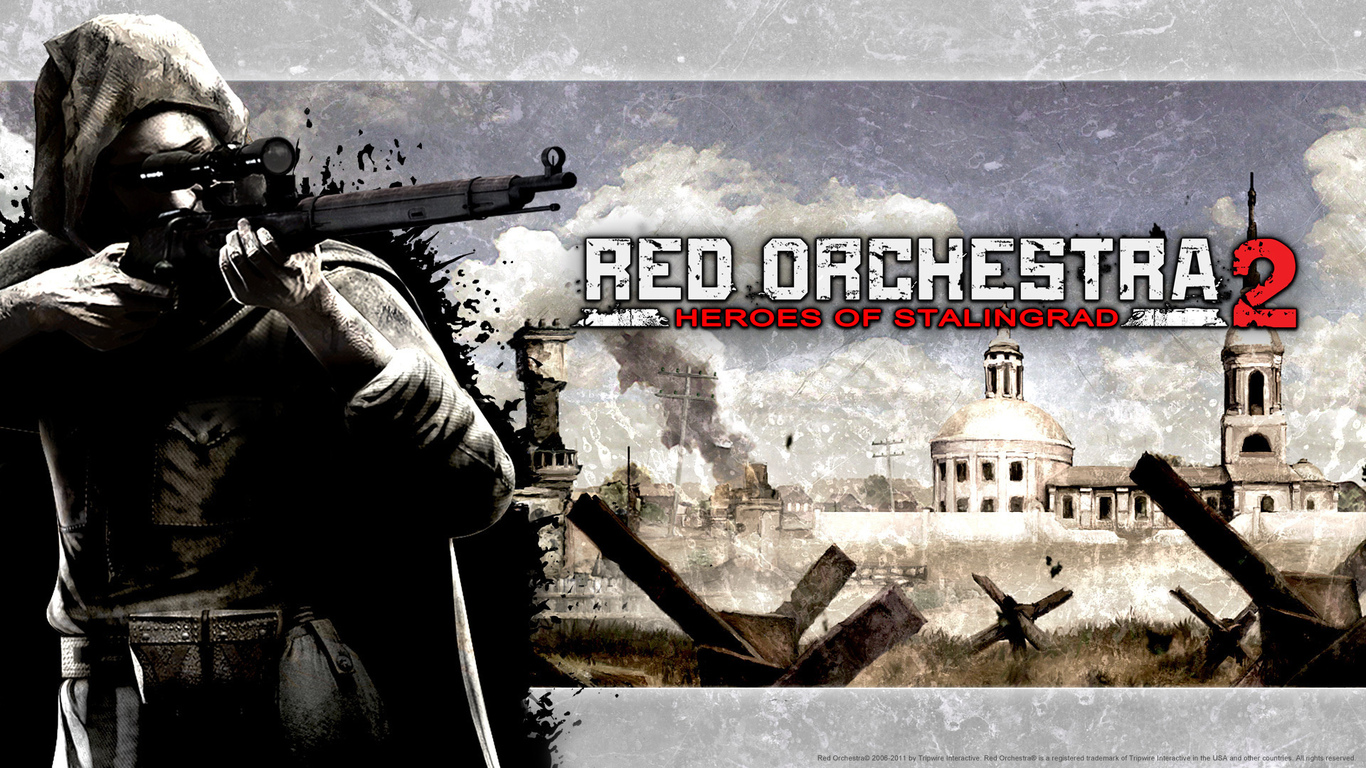 вторая мировая, сталинград, red orchestra 2 heroes of stalingrad, red orchestra 2 герои сталинграда, война, снайпер