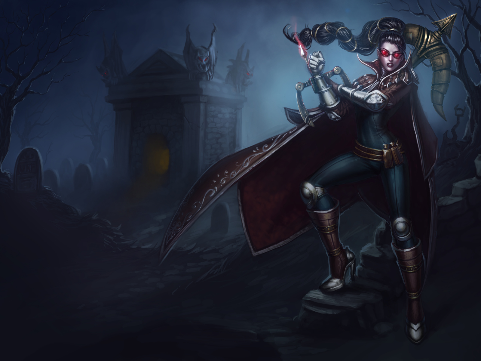 vayne, the night hunter, lol