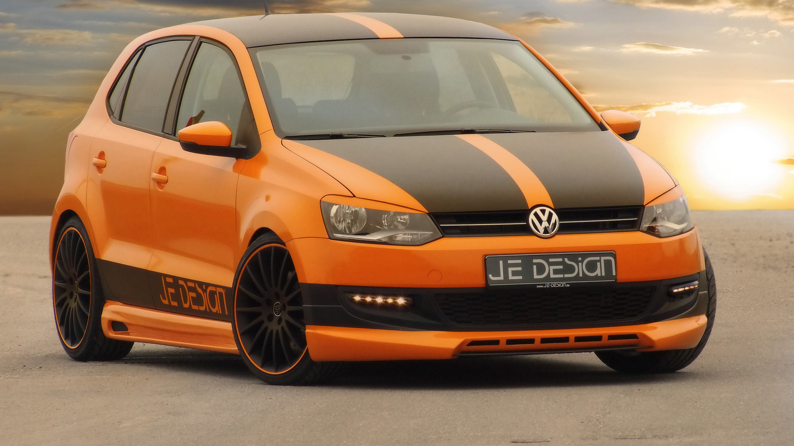 design, volkswagen, je, polo