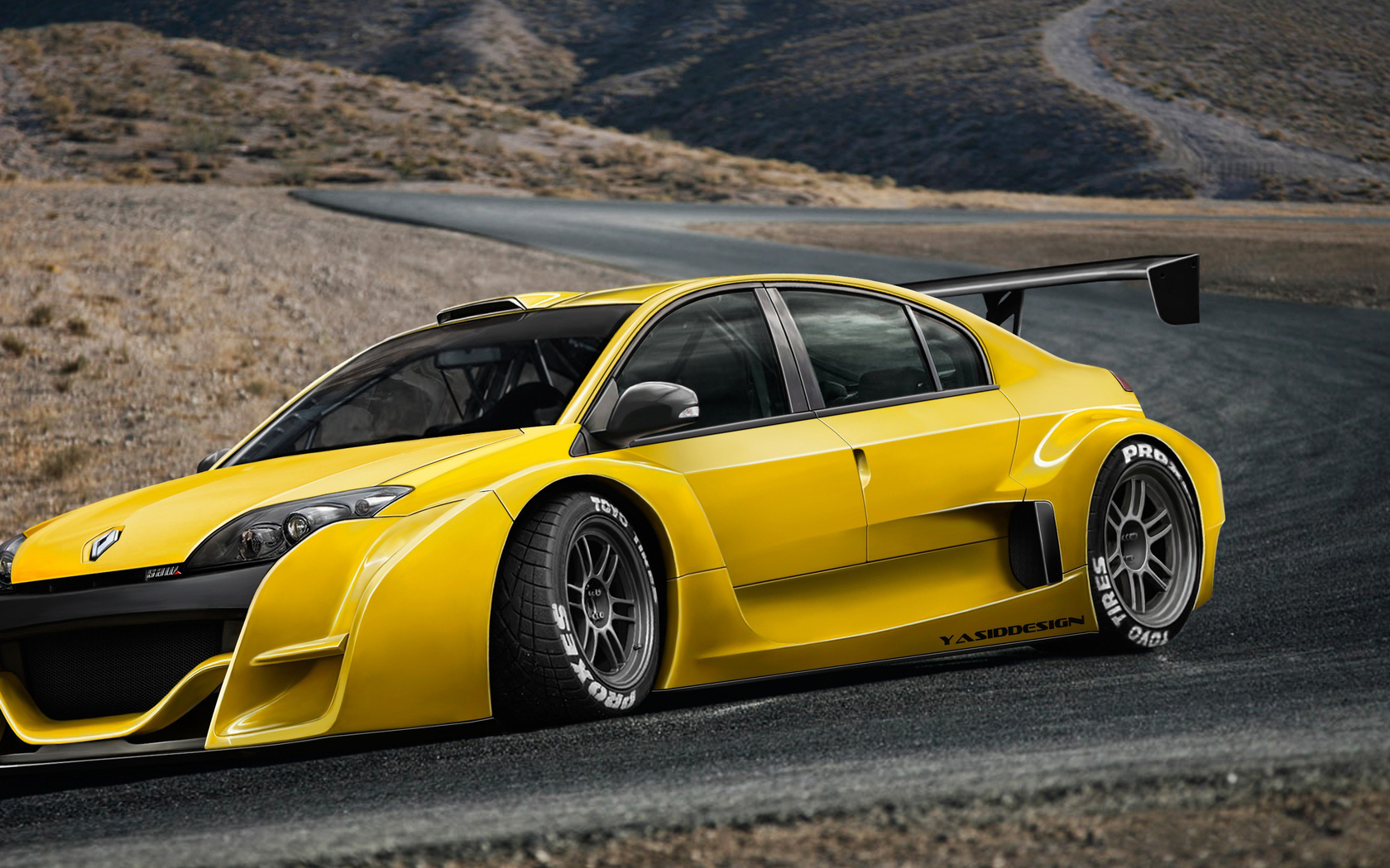 renault, saw trophy, laguna