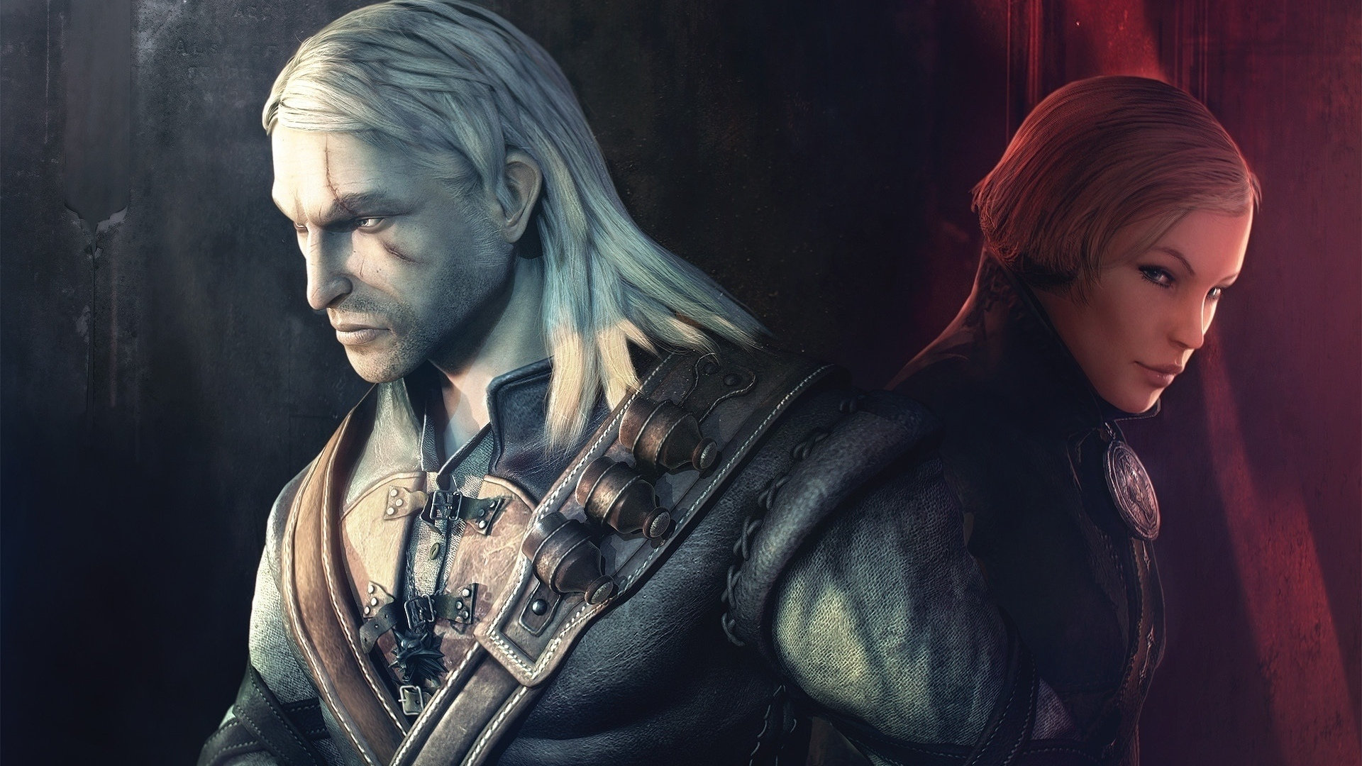 геральт, enhanced edition, the witcher, ведьмак