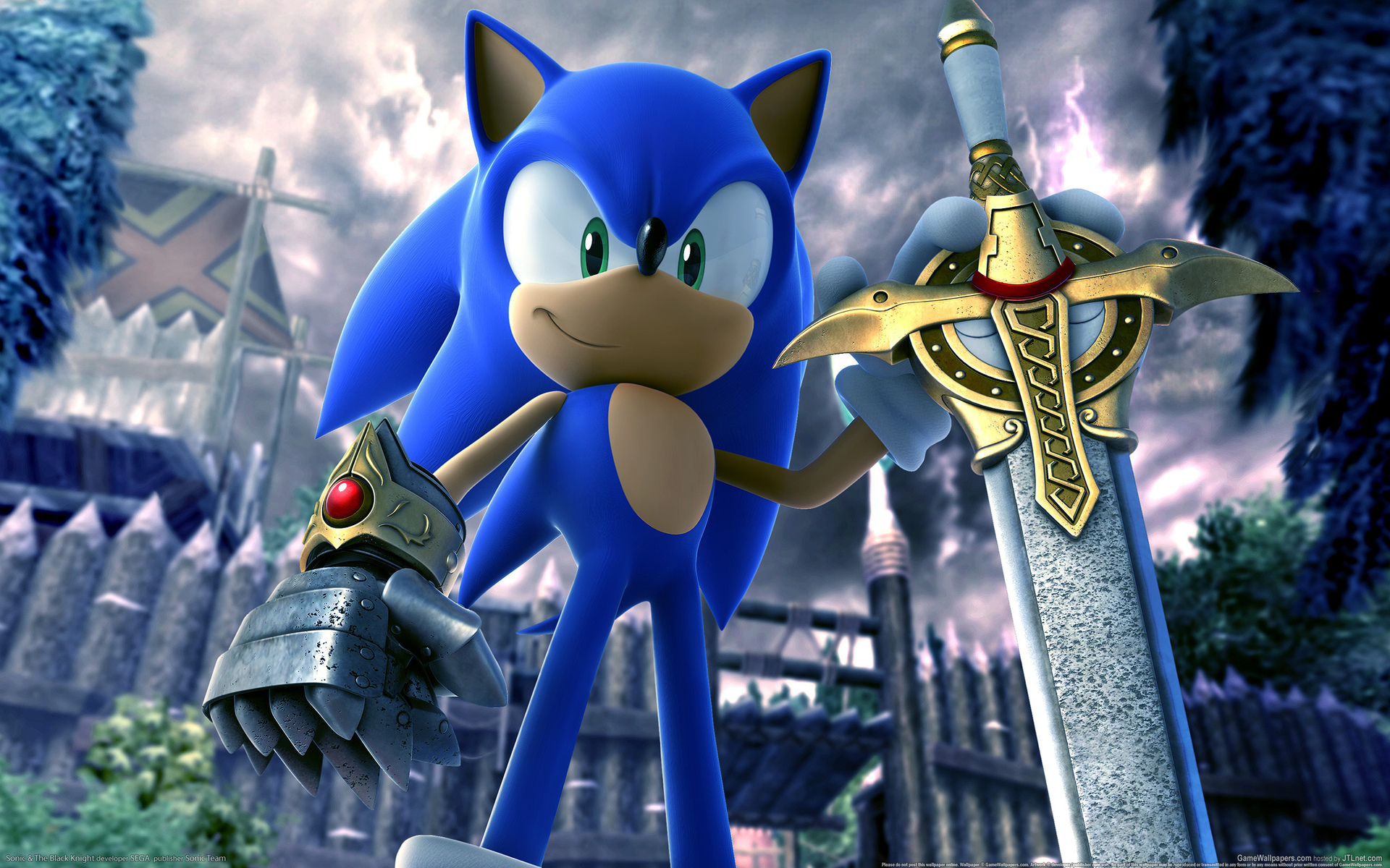 ёжик, соник, игры, меч, sword, sonic and the black knight, beautiful game wallpapers, sega, hero, обои