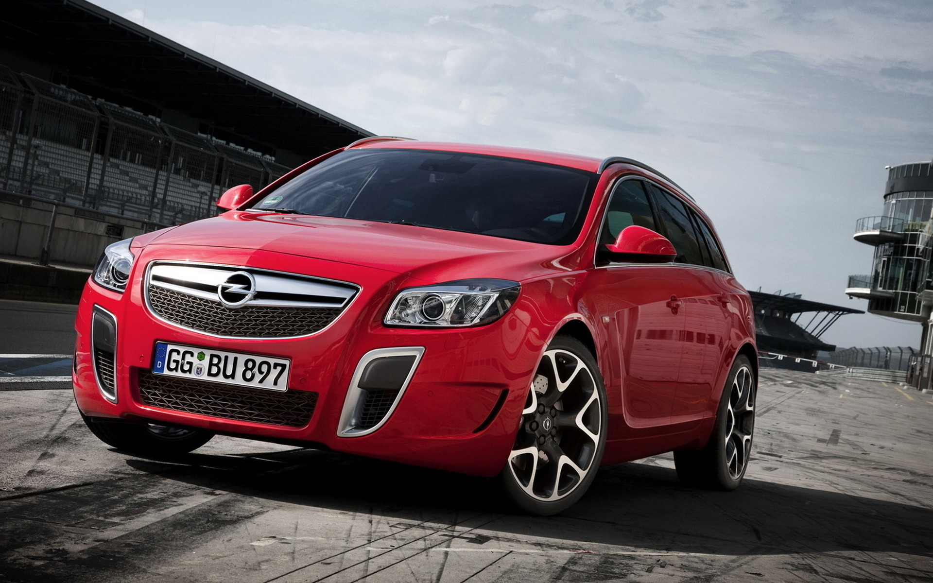 машина, красный, opel insignia opc sports tourer, тачка