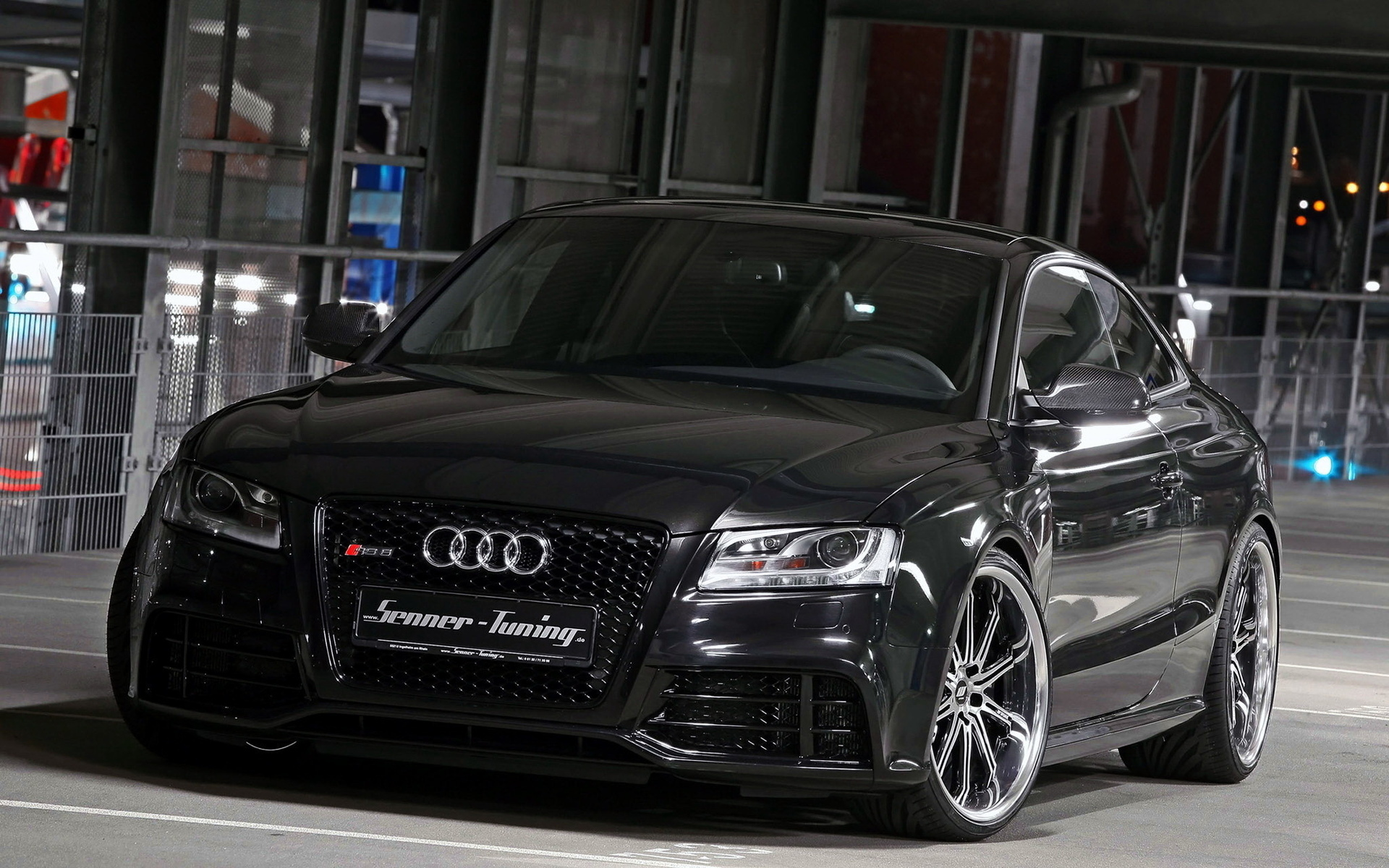 black, senner, tuning, audi, rs5