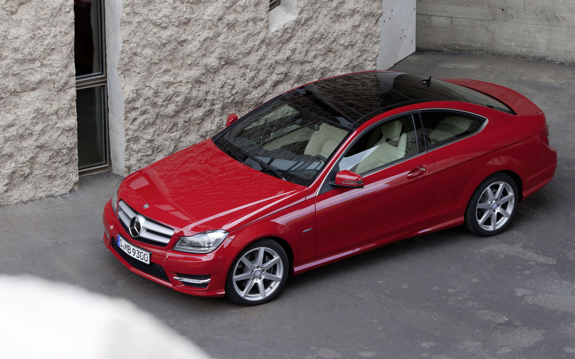 mercedes, coupe, c-class