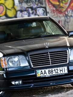 граффити, black car, mercedes, мерседес, песок