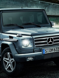 g55, mercedes-benz, kompressor, amg