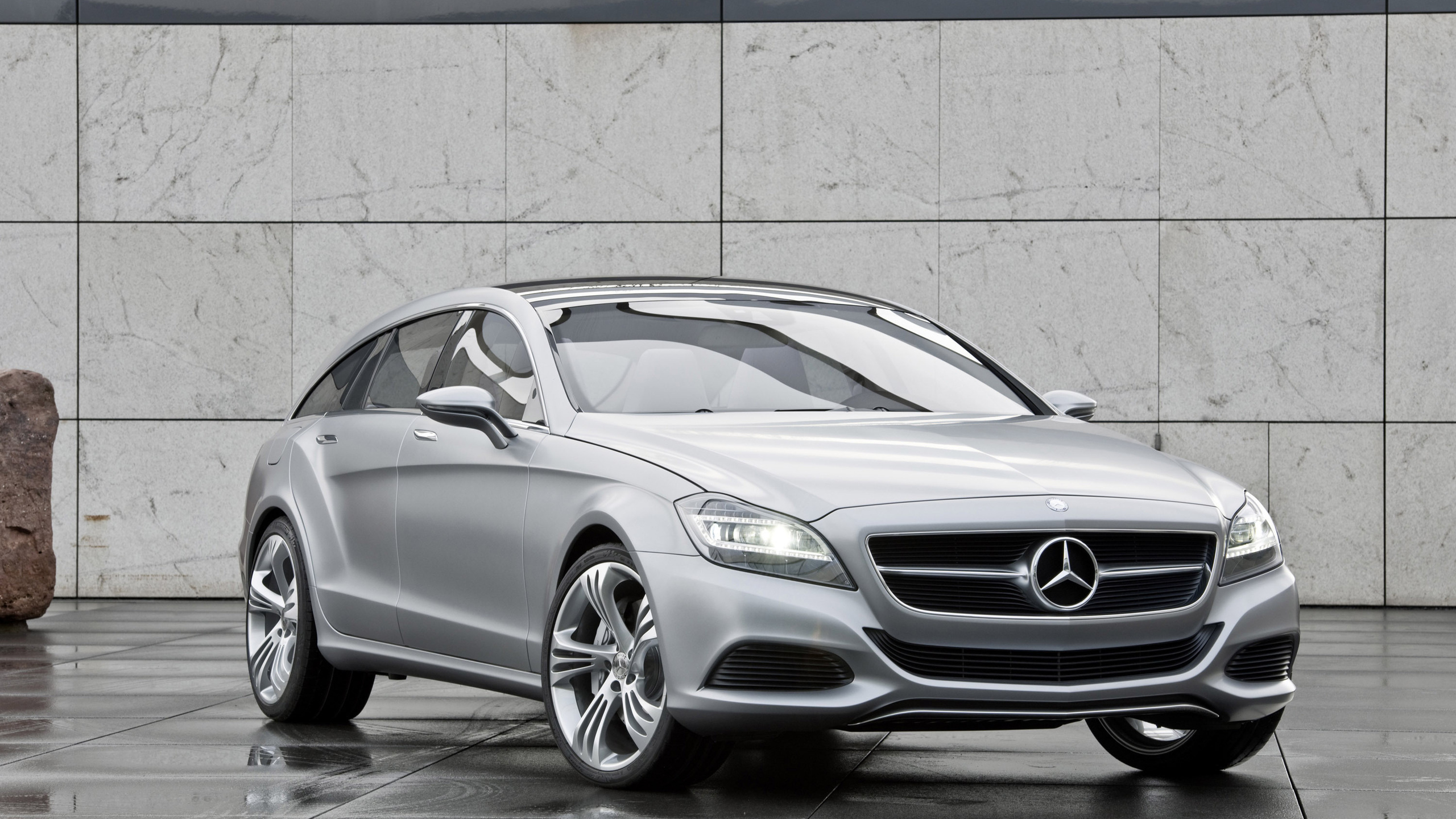 mercedes-benz cls shooting break concept, машина, car