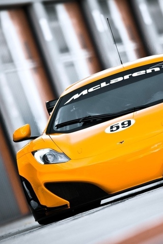 supercar, mclaren mp4 12c gt3, макларен, автообои