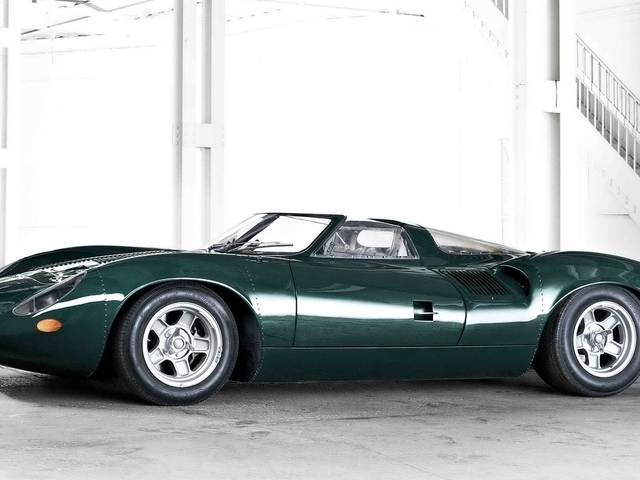 prototype, 1966, sports, racer, xj13 v12
