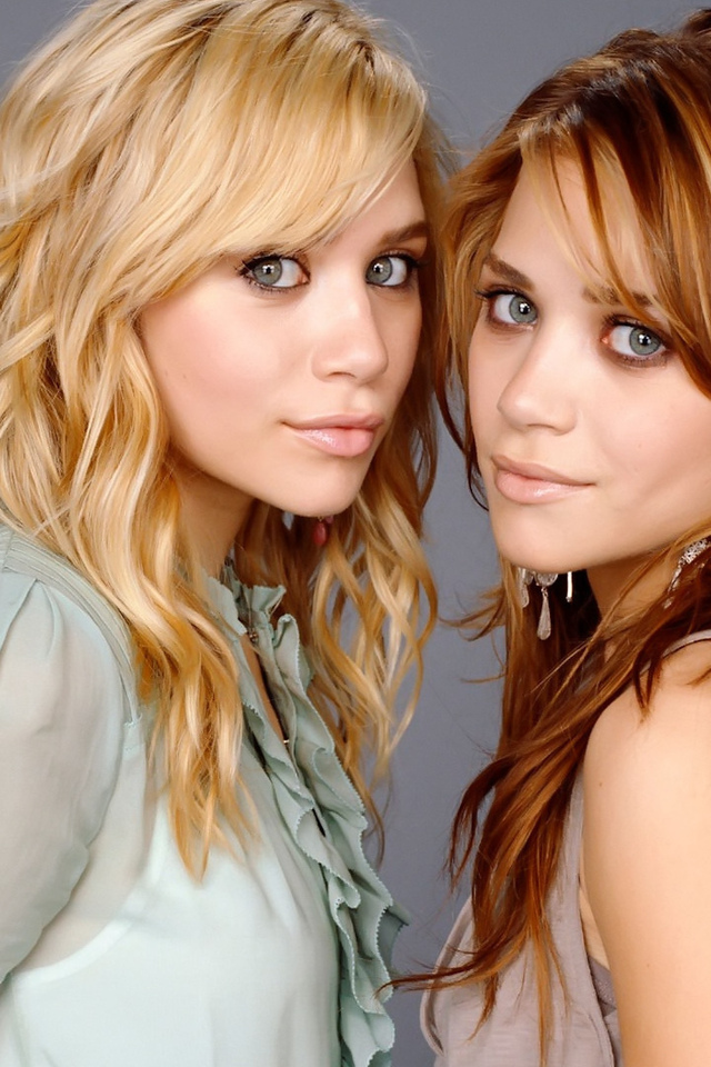 mary-kate, ashley, сестры, twins, olsen