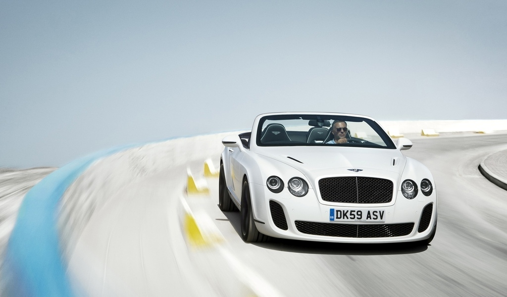 convertible, дорога, supersports, размытость, continental, bentley