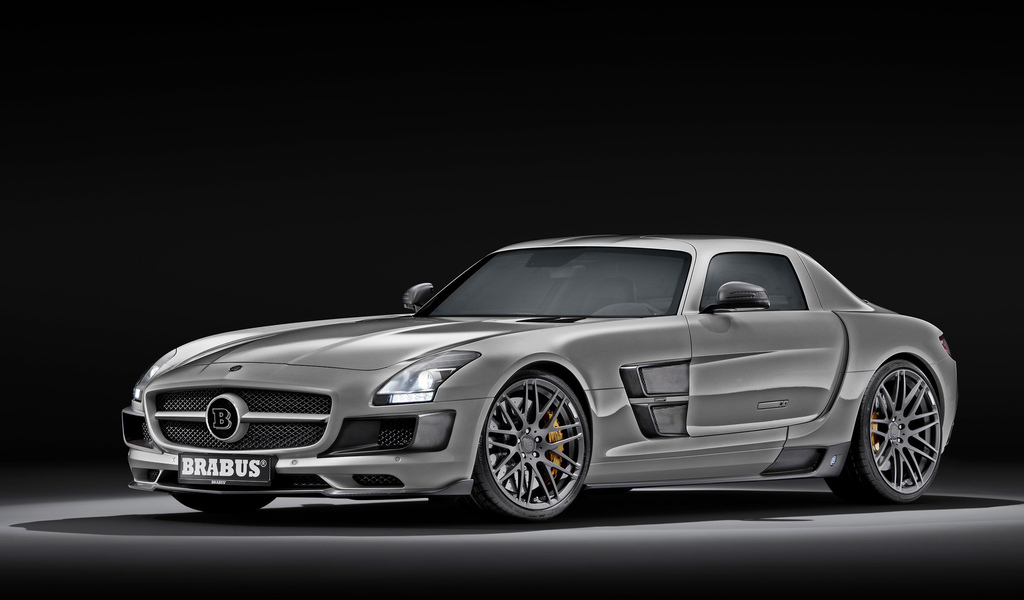 mercedes, машины, обои, auto wallpapers, sls amg, brabus
