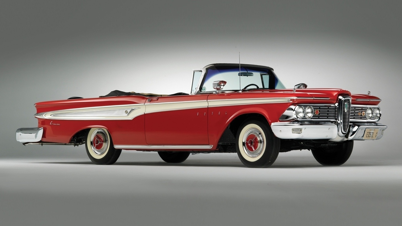автомобили, ретро, edsel corsair convertible