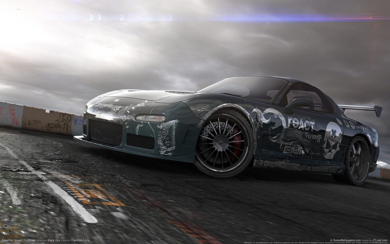 speed, rx7, need, for, prostreet, nfs