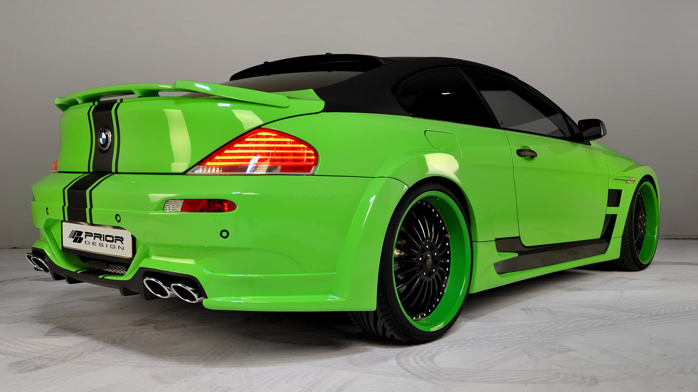 bmw m6, car, tuning, 3000x1992, машина, prior design