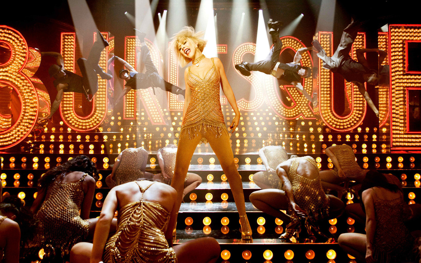 burlesque, dance, aguilera, blonde, singer